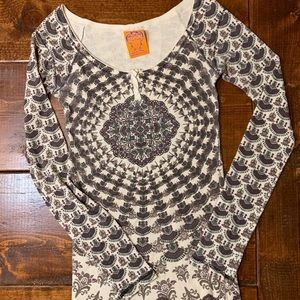 Free People Thermal Fitted Top